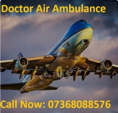 Doctors Air Ambulance Service in Patna with Best Medical Team