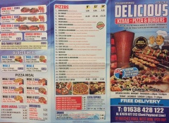 Delicious Kebab Pizza West Row Mildenhall